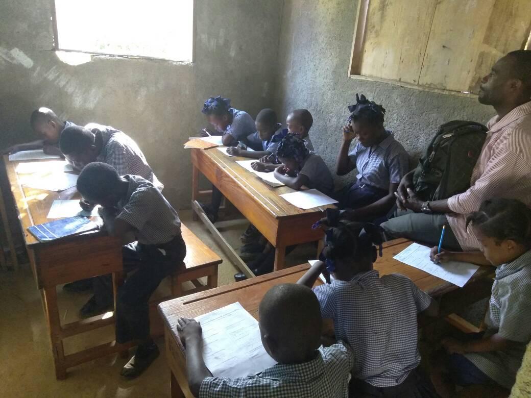 Jericho school classroom